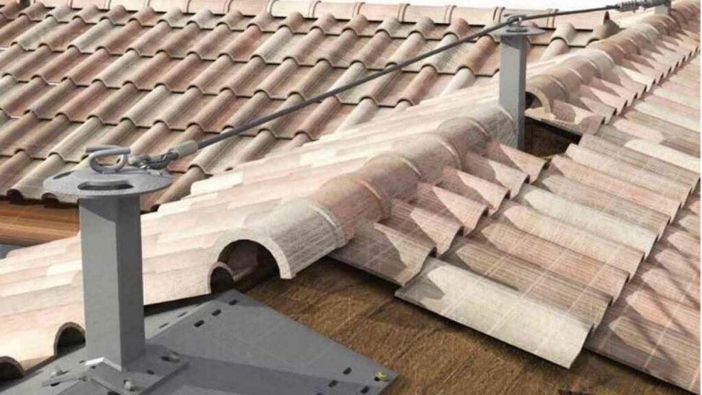 Installazione linee vita tetto